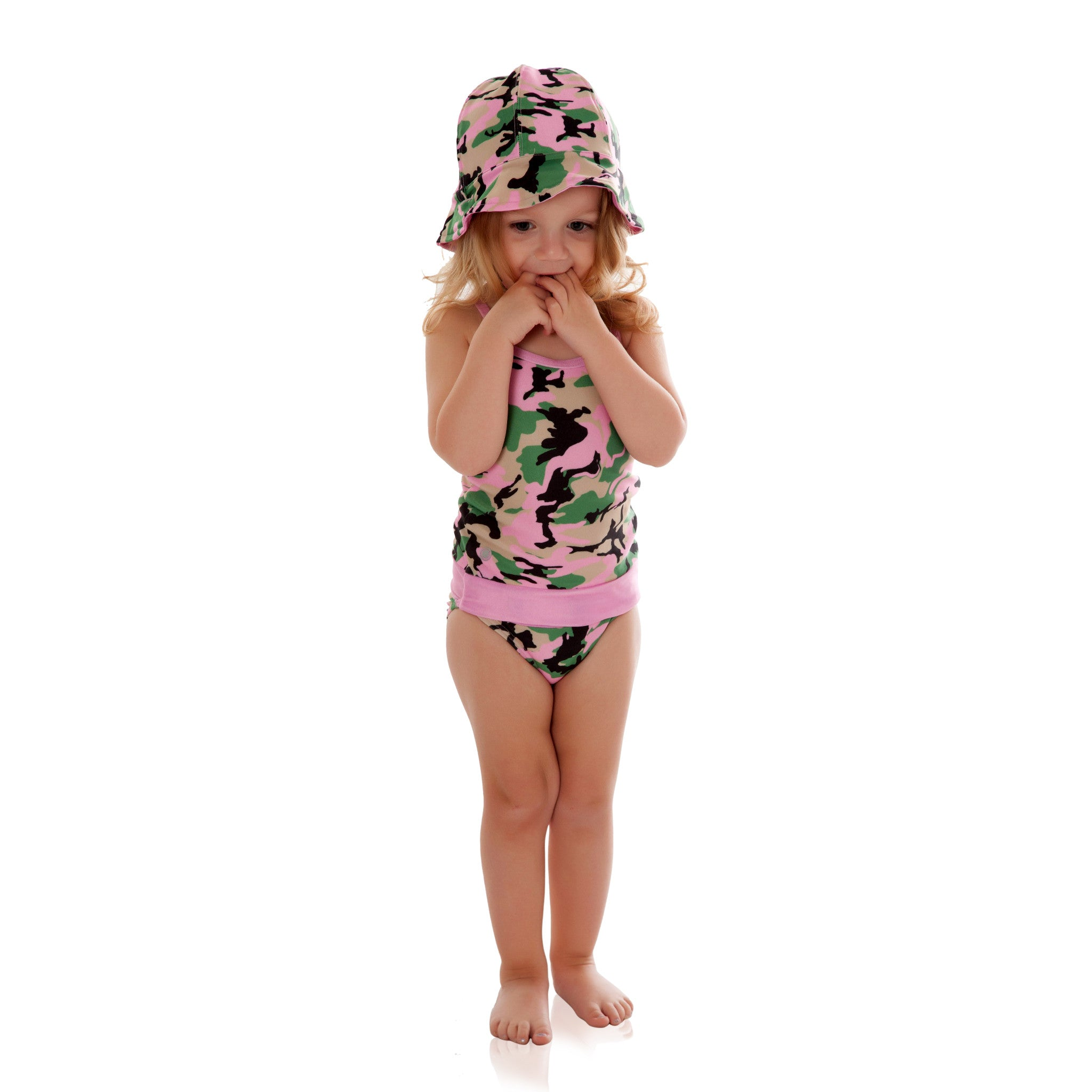 Rose Camo with Rose Bathing Suit
