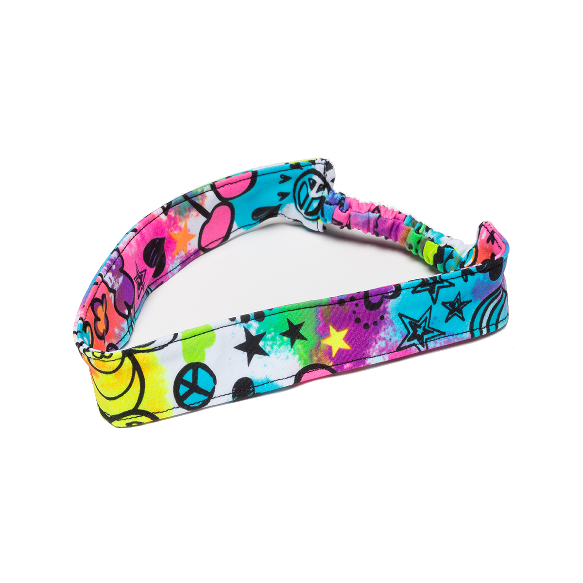 Peace Sign Butterfly Headband