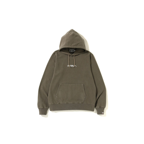 "A BATHING APE WASHED WIDE PULLOVER HOODIE  "" GREEN """