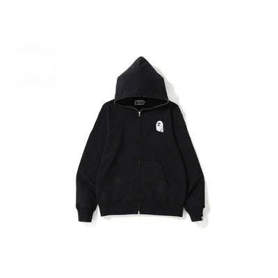 "A BATHING APE ABC FULL ZIP HOODIE  "" BLACK """