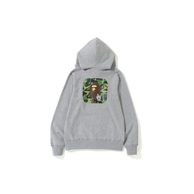 "A BATHING APE ABC FULL ZIP HOODIE  "" GREY """