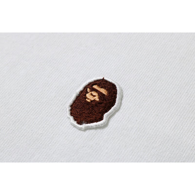 "A BATHING APE APE HEAD ONE POINT TEE "" WHITE """