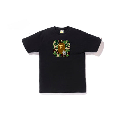 "A BATHING APE ABC TEE "" BLACK """