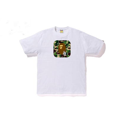 "A BATHING APE ABC TEE "" WHITE """