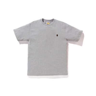 "A BATHING APE APE HEAD ONE POINT TEE "" GREY """