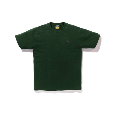 "A BATHING APE APE HEAD ONE POINT TEE "" GREEN """