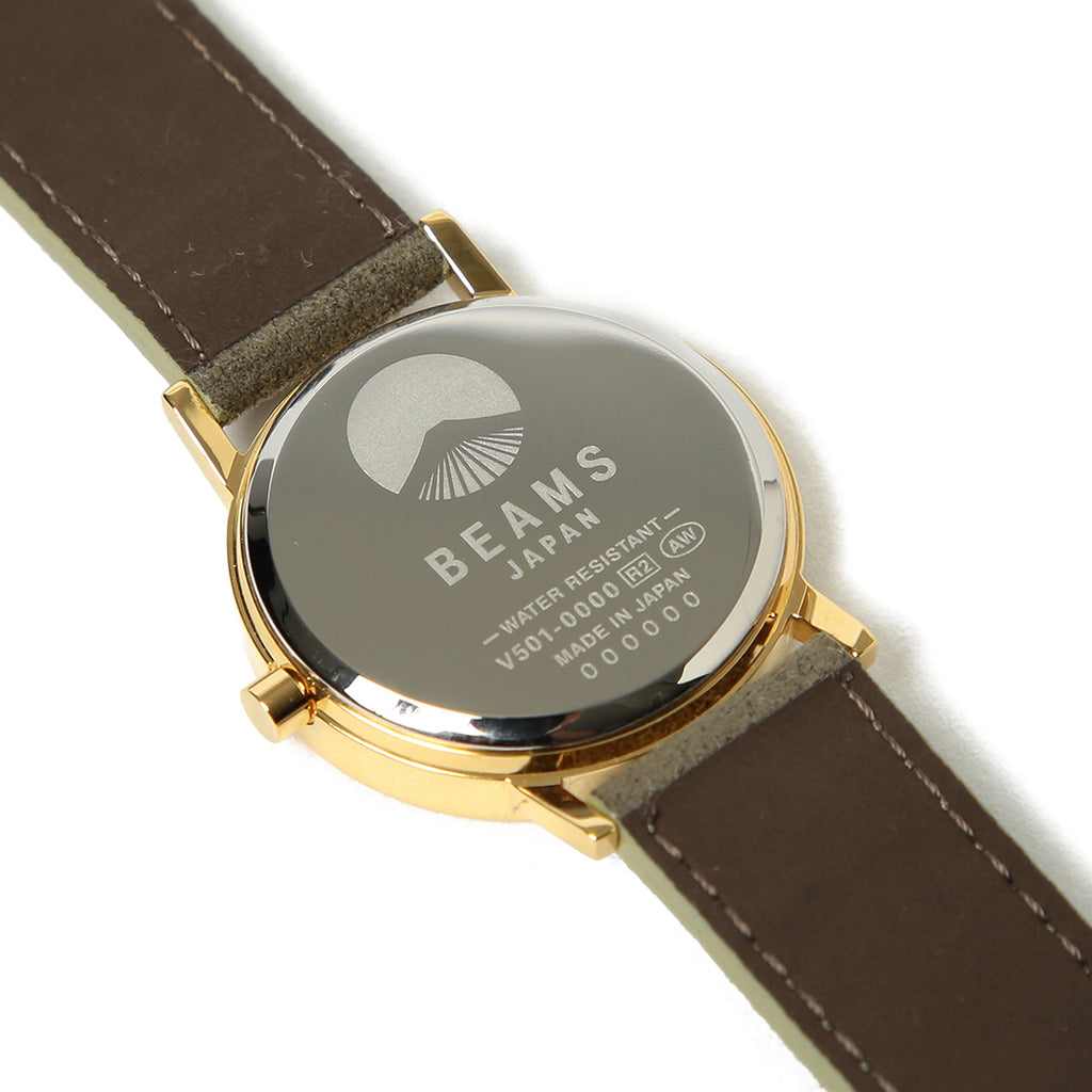 Beams Japan Chinese Numerals Watch