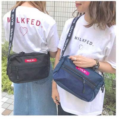 Milkfed SHOULDER BAG with MESH POCKET