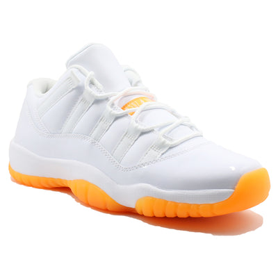 "Air Jordan 11 Retro Low  "" Citrus "" BG - Shoes - BlackStory"