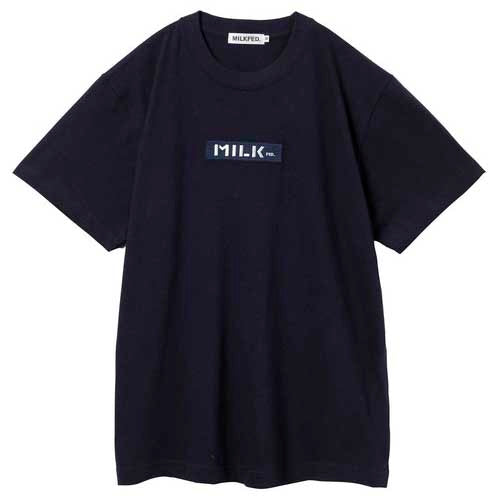 Milkfed Embroidery Bar Logo Tee