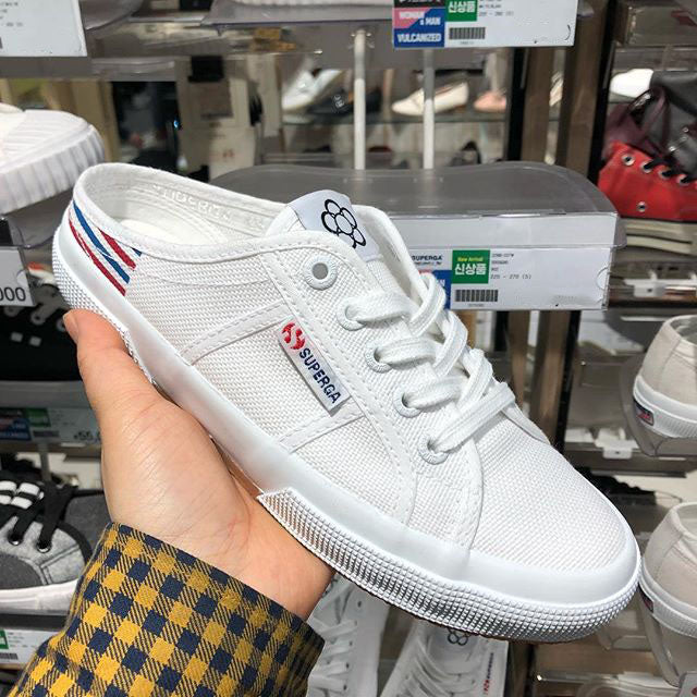 "SUPERGA x TAEGEUKDANG 2288 Cotw "" WHITE x BLUE x RED """