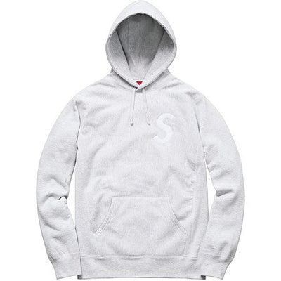 Supreme S Logo Hooded Sweatshirt - Clothing - BlackStory