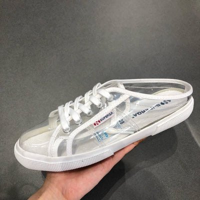 "SUPERGA 2288 Clear Mule "" Clear """
