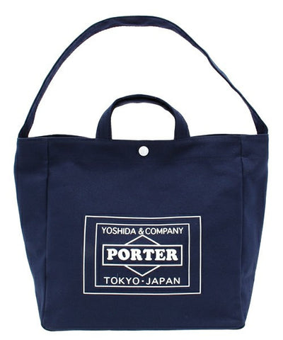 PRE-ORDER TRAVEL COUTURE BY LOWERCASE X PORTER TOKYO TOTE BAG M - Bag - BlackStory