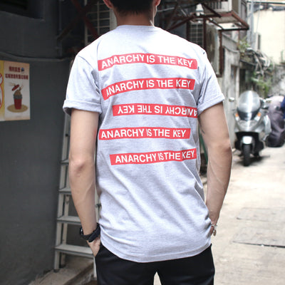 Supreme X Undercover Anarchy Tee Grey - Clothing - BlackStory