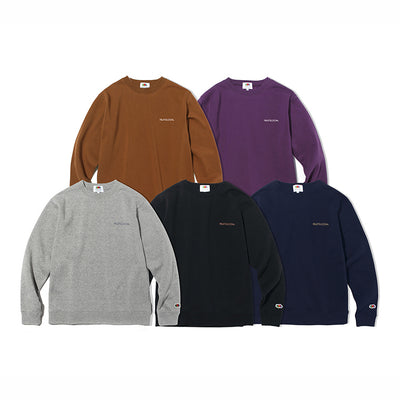 FRUIT OF THE LOOM WITH BACK LOGO SWEATSHIRT