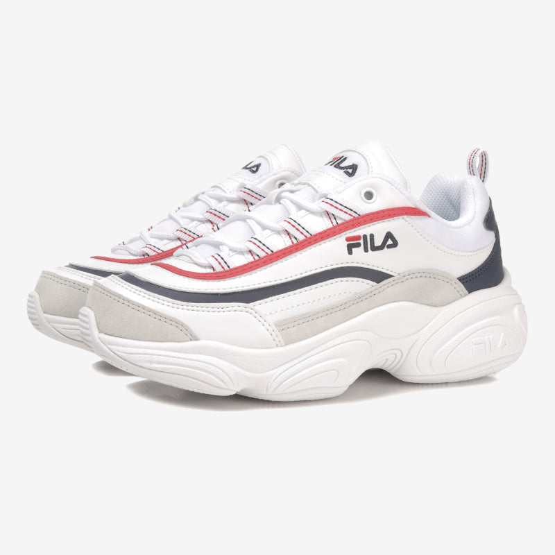 "FILA RAY RUN "" WHITE / RED / NAVY """