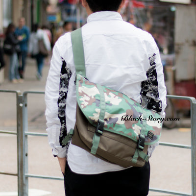 Head Porter Jungle Messenger Bag