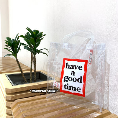 Have a good time PVC Bag