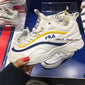 "FILA RAY "" WHITE x YELLOW x NAVY """