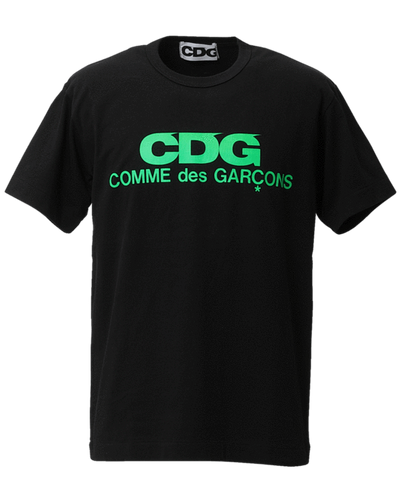 COMME DES GARCONS CDG FLUORESCENT PRINTED T-SHIRT