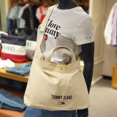 Tommy Jeans Logo 2Way Canvas Bag