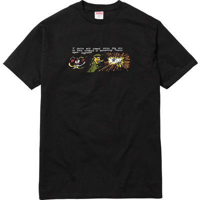 Supreme Dog Shit Tee Black