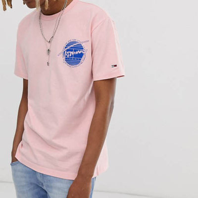 TOMMY JEANS FRONT LOGO TEE WITH BACK LOGO