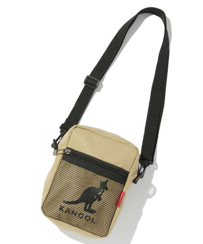 Kangol Logo Mesh Shoulder Bag