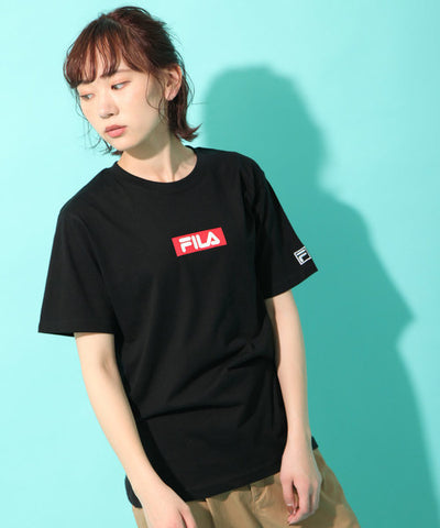 "Fila Red Box Logo "" Black """