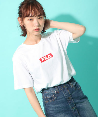 "Fila Red Box Logo ""White"""
