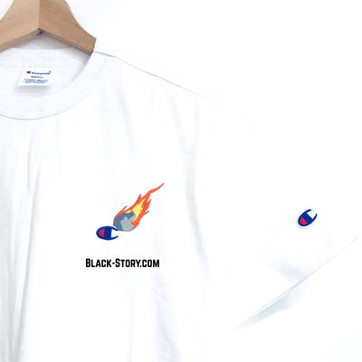 Champion Aerolite Small Logo Tee - Clothing - BlackStory