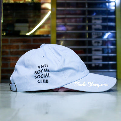 "Anti Social Social Club Wired Cap "" Blue "" - Accessories - BlackStory"