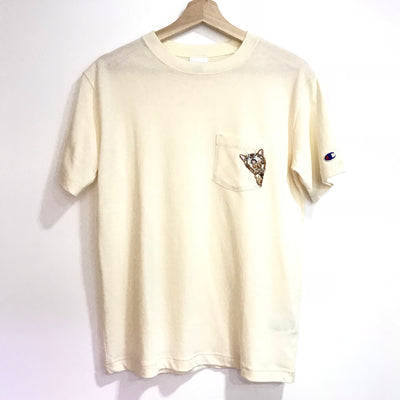 Champion Side Cat Pocket Tee