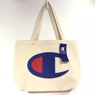 Champion Big Logo Canvas Tote Bag