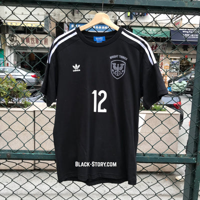 Adidas x Bright Things 12 Football Tee - Clothing - BlackStory