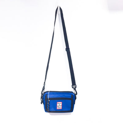 "have a good time frame Shoulder Bag "" Blue """