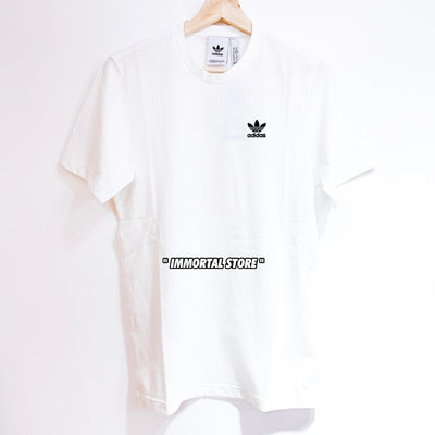 "Adidas Originals Small Logo Tee ""WHITE"""