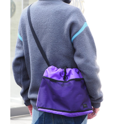PORTER x BAL DRAWSTRING SHOULDER BAG