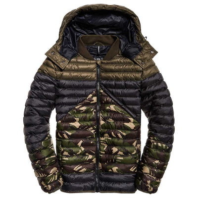 "Superdry Axis Padded Jacket "" Camo """