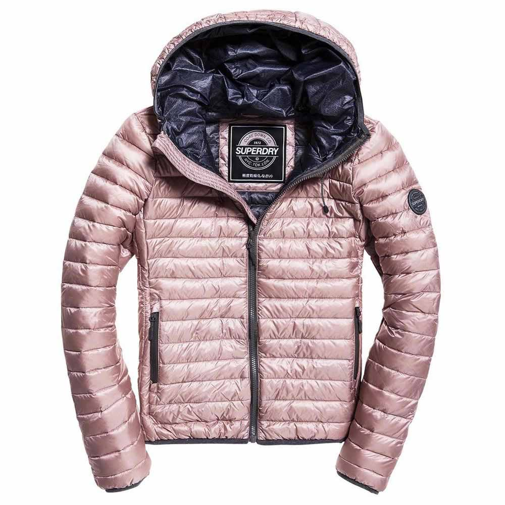 "Superdry WOMEN Core Down Jacket "" Pink """