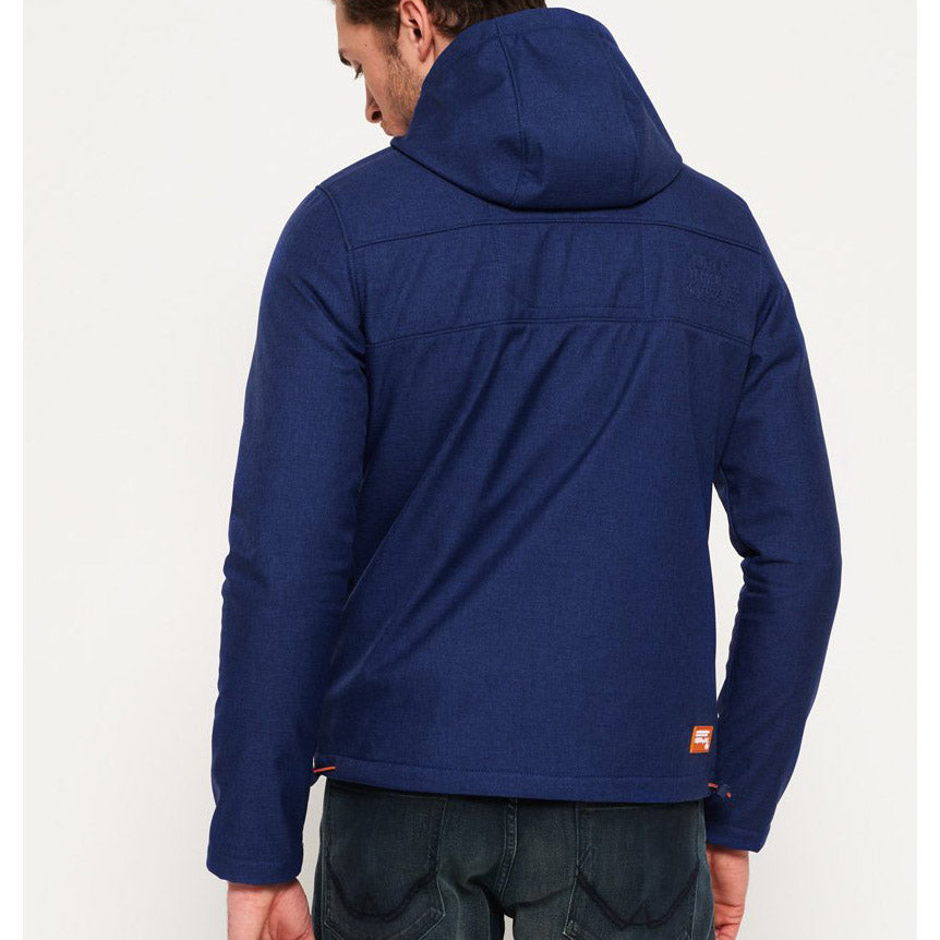 "Superdry Hooded Windtrekker "" Blue x Orange """