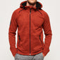 "Superdry Storm Double Zip Hoodie  "" Orange """
