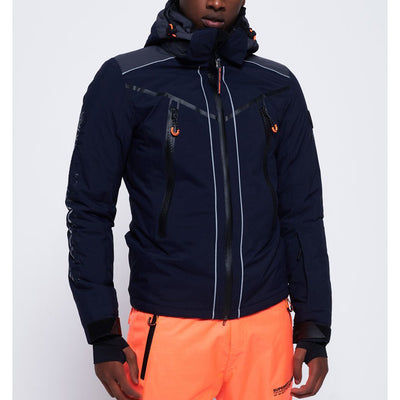 "Superdry Downhill Racer Padded Jacket "" Navy """