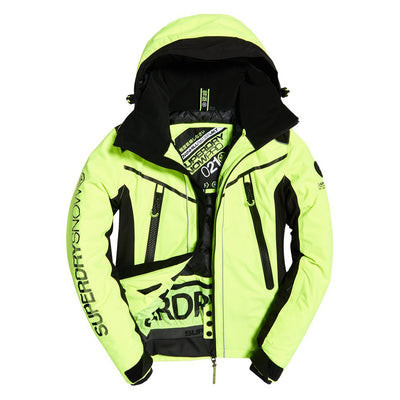 "Superdry Downhill Racer Padded Jacket "" Yellow """