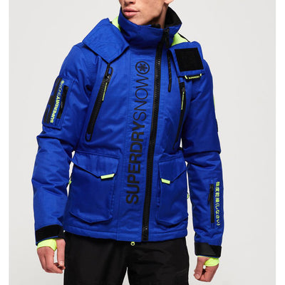 "Superdry Ultimate Snow Rescue Jacket "" Blue """