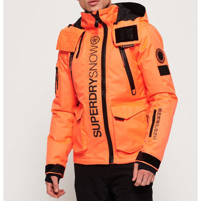 "Superdry Ultimate Snow Rescue Jacket "" Orange """