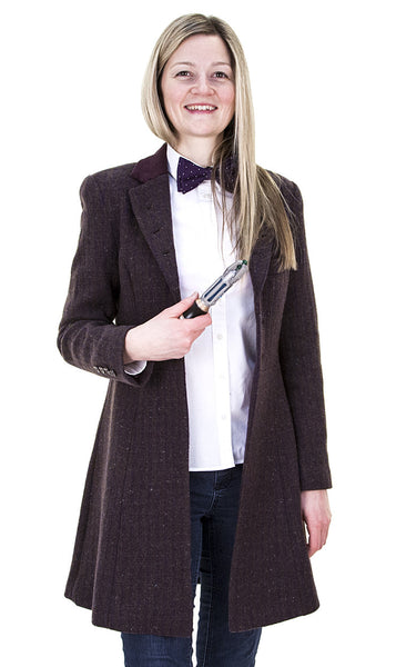 Ladies Eleventh Doctor's Purple Coat - AbbyShot - 2
