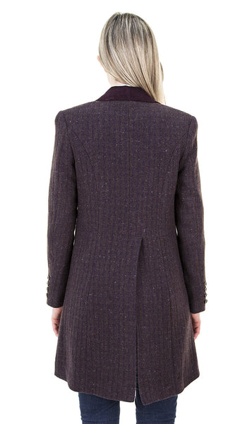 Ladies Eleventh Doctor's Purple Coat - AbbyShot - 4