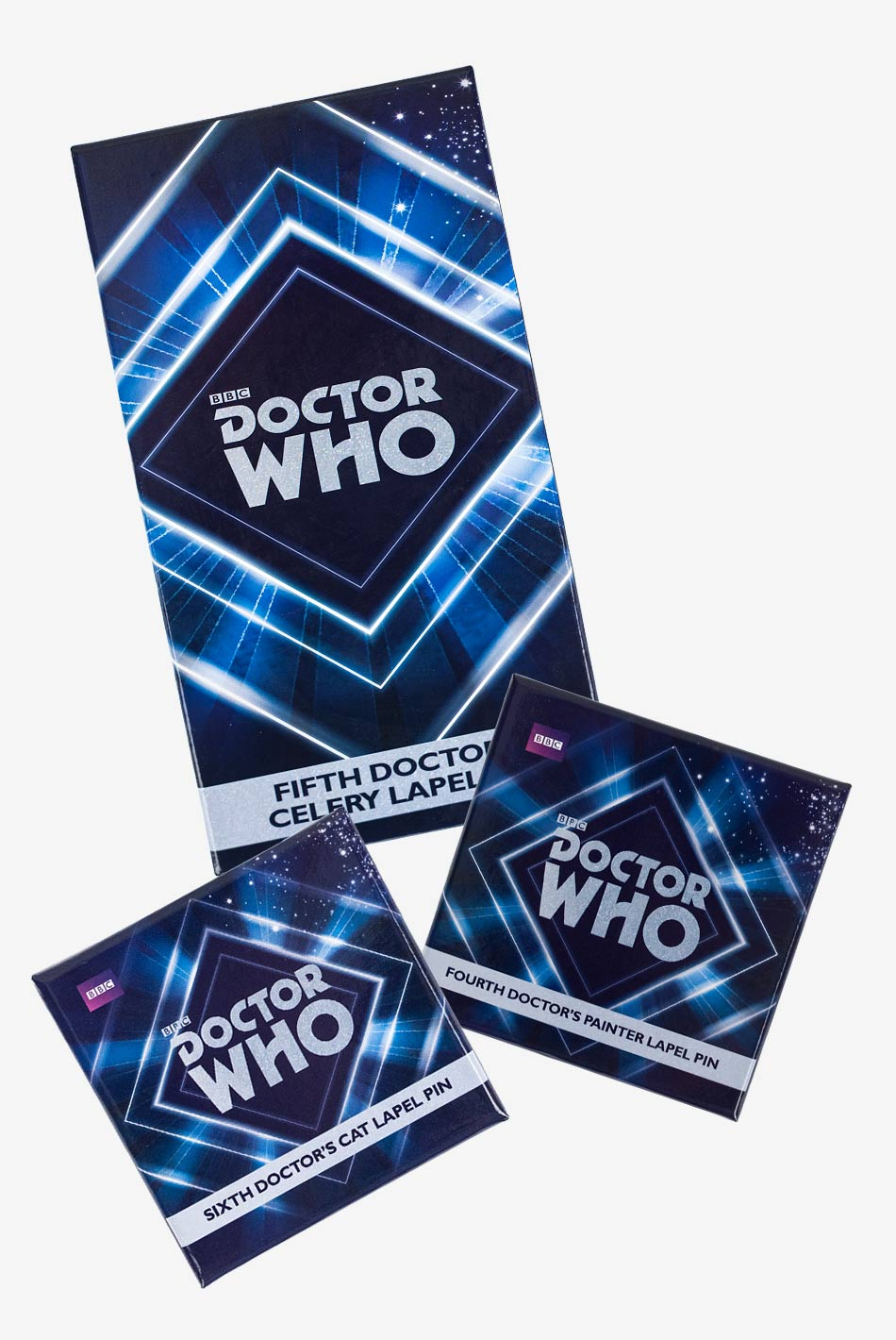 Classic Doctor Who Pin Bundle